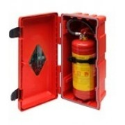 Schrána na hasící přístroj 6kg, 70003, skříň požární, plastová, bedna, schránka