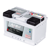 Autobaterie 75Ah, 750A, AUTOPART GALAXY SILVER, 12V