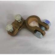 Svorka pólu baterie mosaz -, mínus, kontaktu, HRUBŠÍ, objímka