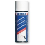 Autolak bílý matný, BERNER 400ml, 220418, barva bílá