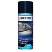 Čistič okeních skel, BERNER 400ml, pěna, 147970, autoskel, krby