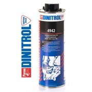 Ochranný nátěr podvozku vosk, DINITROL 4942, 1000ml, průhledný, hnědý, 11188, nástřik, AKCE !