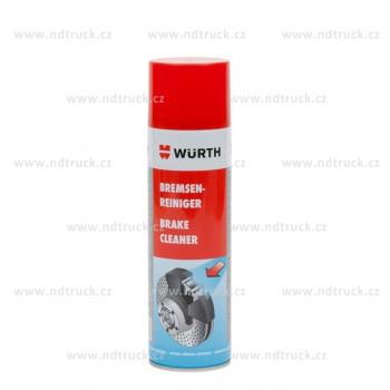 Čistič brzd WÜRTH 500ml, 0890117, min. 1ks, wurth, odmašťovač
