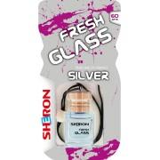 Osvěžovač FRESH GLASS dřevo/Silver 6ml
