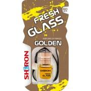Osvěžovač FRESH GLASS dřevo/Golden 6ml