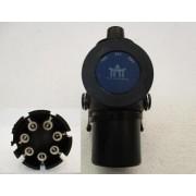 Zástrčka ABS/EBS 7-pol.24V ISO 7638-1 ADR, šroubovací kontakty