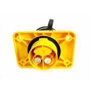 Zásuvka pomocného startu žlutá, 104525000, plast
