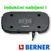 Bezdrátová nabíjecí podložka BERNER, 367166, vč. nabíječky 1A a Micro USB kabelu , Wireless