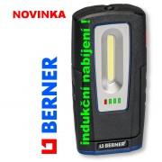 Lampa LED, BERNER kostka, 367170, led pásek, SILNÝ magnet, svítilna, bezdrát, indukční nabíjení, Wireless