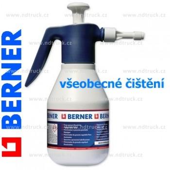 Rozprašovač pumpička BERNER, 81870, pro všeobecné čištění, 1.25L, max.2bar