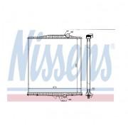 Chladič vody VOLVO FH12, FH16 NISSENS, 654620