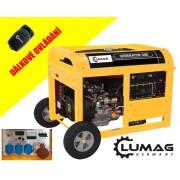Elektrocentrála generátor LUMAG, G8-E, 24004890