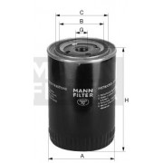 Filtr oleje W723/3 T815
