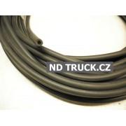 Hadice ostřikovače 3.5x7mm černá gumová, metráž