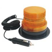 Maják, LED, 12V/24V, magnet, UEUL009AL, oranž