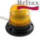 Maják BRITAX, B10.00.MV, XENON, 12V/24V, pevný na 3 šrouby, menší, oranž