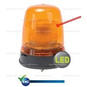 Kryt majáku, BRITAX, vnitřní pro LED majáky, bílý