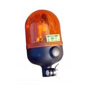 Maják, MICROROT, rotační 24V na tyč, oranž