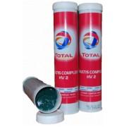 Mazivo TOTAL, MULTIS COMPLEX, HV2, 400g, kartuš, vysokoteplotní, vazelina