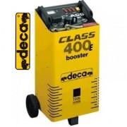 Nabíječka autobaterií DECA, CLASS BOOSTER 400E, 12/24V, startovací zdroj, vozík