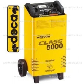 Nabíječka autobaterií DECA, CLASS BOOSTER 5000, 70A, 12/24V, startovací zdroj, vozík, 363500