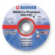 Kotouč řezný na ocel 125x1,0x22,23mm, BERNER PREMIUM, 243912, 36951, i na NEREZ