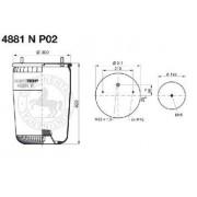 Měch vzduchový BPW 36 P02, 4881NP02