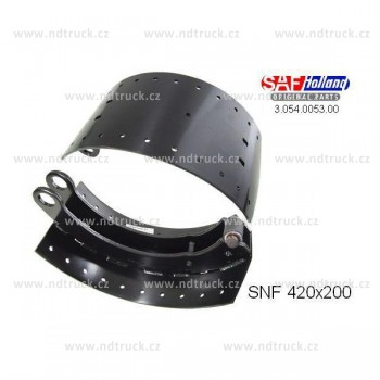 Brzdová čelist SAF RSM 9042, 1ks čelisti