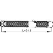 Trubka výfuku SCANIA R480/420, DIN68082