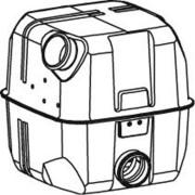 Tlumič výfuku SCANIA R, R124,420/480