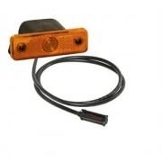 Svítilna obrysová ASPOCK, LED, oranž 12/24V, FLATPOINT, 31221411, bez držáku, boční