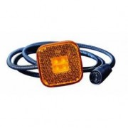 Svítilna poziční MAN LED oranž.s konektorem/zástrčka/DT