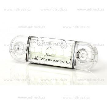 Svítilna obrysová 5xLED, W97.2/712, bílá, přední, 12-24V