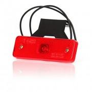 Svítilna obrysová LED, W44 s držákem červená, zadní, W44/C