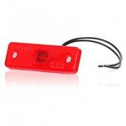 Svítilna obrysová LED, W44, červená, zadní