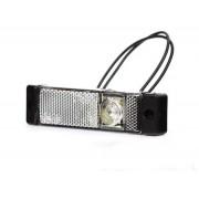 Svítilna obrysová LED, W45 bílá, přední
