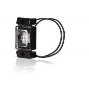 Svítilna obrysová LED, W60, bílá, přední