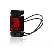 Svítilna obrysová LED, W60, červená, zadní