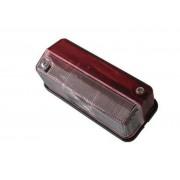 Svítilna obrysová červenobílá, boční, šroubky MART, 12-24V, na sufitku