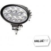 Pracovní světlomet HELLA, ValueFit ovál, 8diod, 1200lm, 1GA357001-001