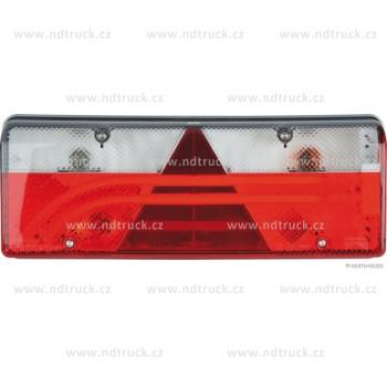 Svítilna skupinová, EUROPOINT III LED+žár, pravá, se svorkovnicí, ASPOCK, A25-7400-504, sdružená, 2x šroub