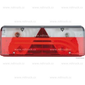 Svítilna skupinová, EUROPOINT III LED+žár, levá, se svorkovnicí, ASPOCK, A25-7000-504, sdružená, 2x šroub