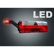 Svítilna skupinová, EUROPOINT III LED+žár, levá, se svorkovnicí, ASPOCK, LED tykadlo, A25-7020-511