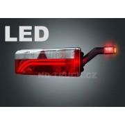 Svítilna skupinová, EUROPOINT III LED+žár, pravá, se svorkovnicí, ASPOCK, LED tykadlo, A25-7420-511