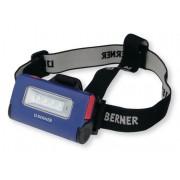 Lampa, LED, BERNER, čelovka, LED 2 v 1, 335506, aku, svítilna, USB