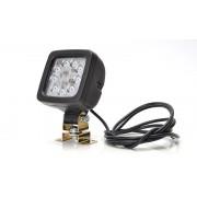 Světlomet pracovní STW81, 9 LED, 3xkabel,couvák, 685