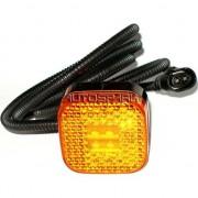 Svítilna poziční MAN LED oranžová, s konektorem zásuvka, 81.25260.6105, náhrada