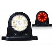 Svítilna obrysová LED tykadlo, W21.4W, 5WW21.4, L/P, kopeček, poziční