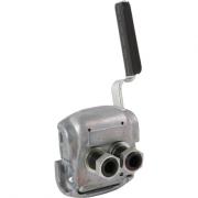 Hlavice vzduchu spojka, Duomatic, PNEUMATICS, 4528030050, PN-HC011, návěs, plošky