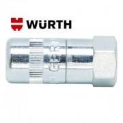 Nástavec, koncovka, maznice, hadice WÜRTH sklíčidlová, 0986003, 4x čelist, GERMANY, kvalitní, hlavice, wurth